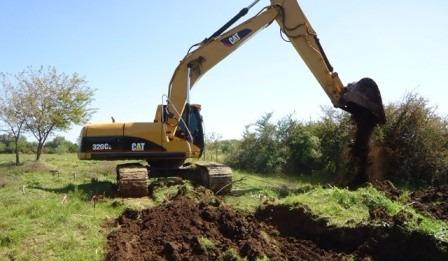 obras viales, movimiento de suelos, excavaciones, alquiler