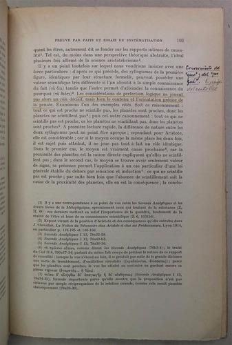 observation et expérience chez aristote l. bourgey filosofia