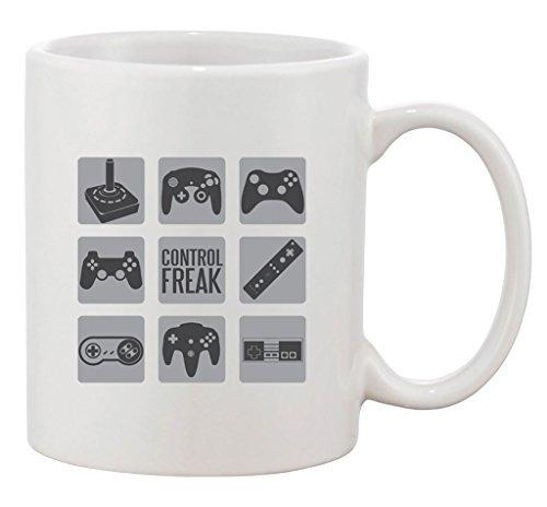 obseso del control del juego video gamer geek nerd dt taza