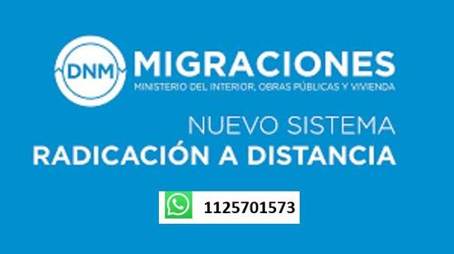 obtención del dni argentino en el nuevo sistema radex