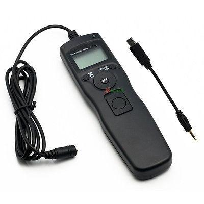 obturador remoto timer para a58 sony nex-3nl a7 a7r a3000