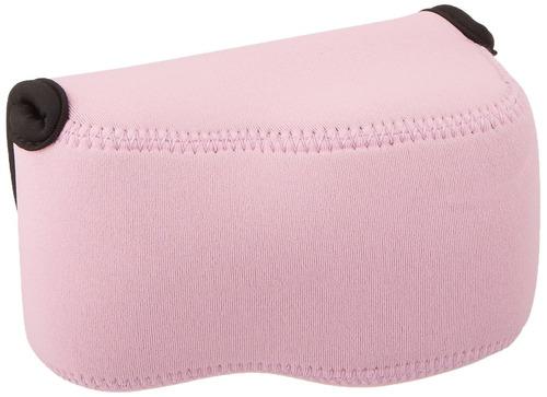 oc-s1p pink mirrorless camera pouch para sony a6300-a6000-a5
