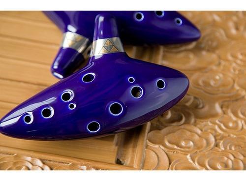 ocarina del tiempo 12 hoyos the legend of zelda de colección