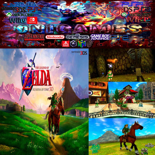ocarina time 3ds the legend zelda