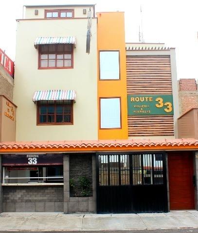 ocasión se vende casa mas local restaurante polleria