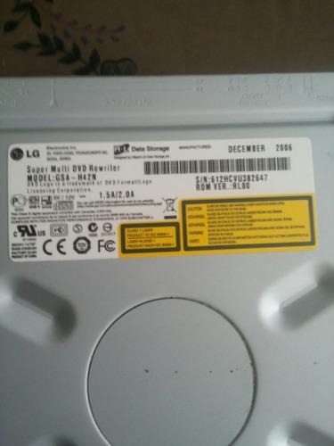 ocasión vendo grabador cd dvd lg