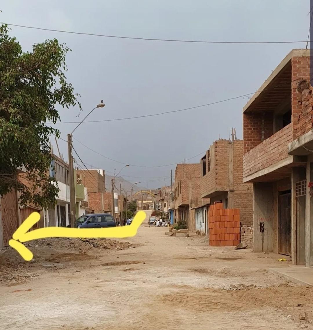 ocasión: venta de terreno en nieveria-huachipa