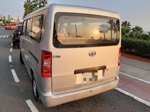 ocasión venta minivan faw v80 8 pasajeros 2019