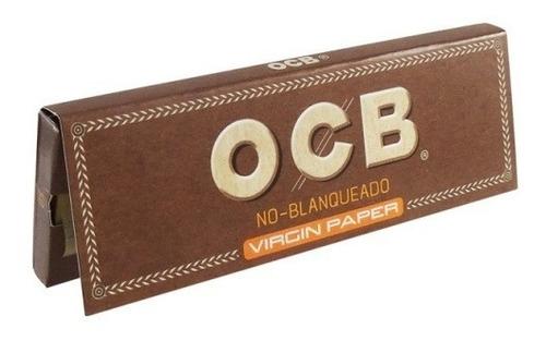 ocb unbleached no blanqueado papel sedas pack x10 librillos