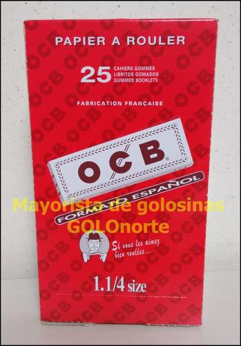 ocb x 25 unid papel papelillo sedas blanco para armar