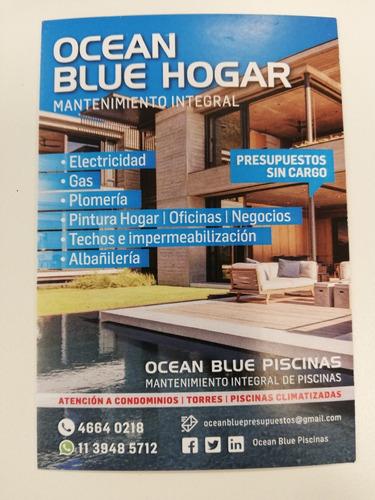 ocean blue hogar - albañileria en general - contratista -