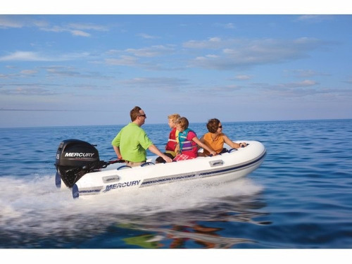 ocean runner 300 - mercury boat