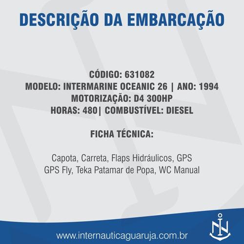 oceanic 36 1994 intermarine ferretti azimut cimitarra phanto
