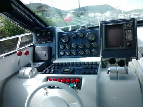 oceanic 44 1995 motor mercedes diesel - marina atlântica