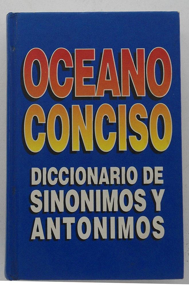 Artesanato O Que É ~ Oceano Conciso Diccionario Sinónimos Y Antonimos $ 150 00 en Mercado Libre