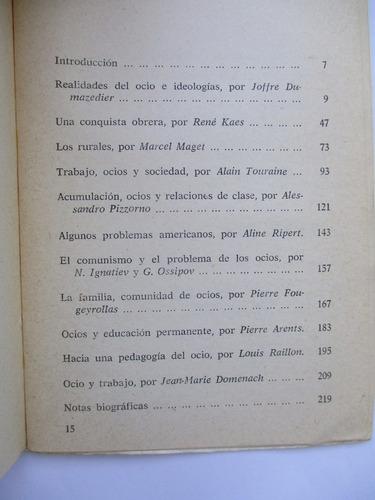 ocio y sociedad de clases / varios autores ( pinchar  foto)
