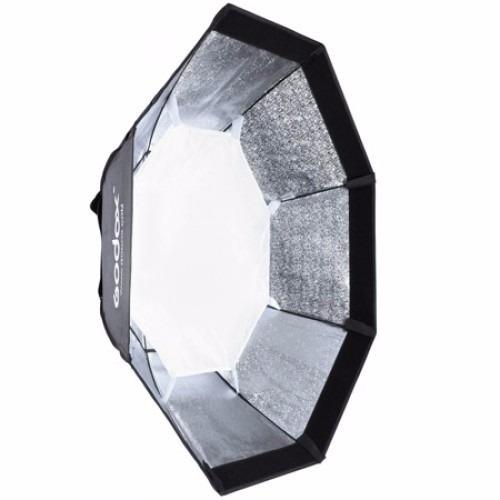 octabox godox 95cm con grid y bracket para speedlite