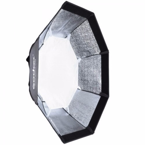 octabox godox 95cm softbox con bracket p/speedlite y tripie