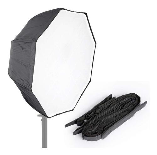 octabox softbox 120cm universal com grid tipo sombrinha