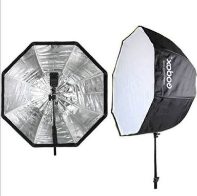 octabox softbox sombrilla 80cm + tripie linco + bracket