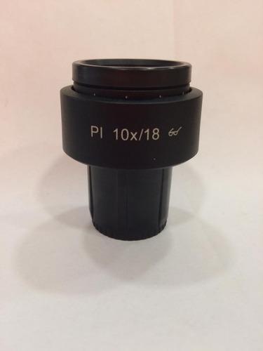 ocular pl 10x/18 br (ref. 444131-9901-000) microscópio zeiss