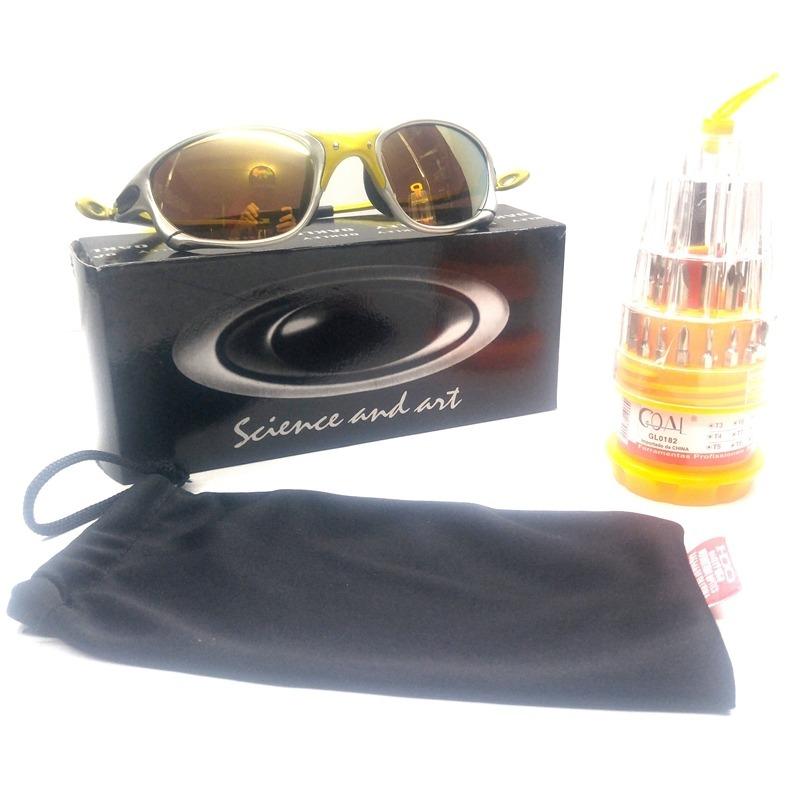 f9c94ad3a473c Oculo Double X 24k Idêntica A Original Item De Colecionador