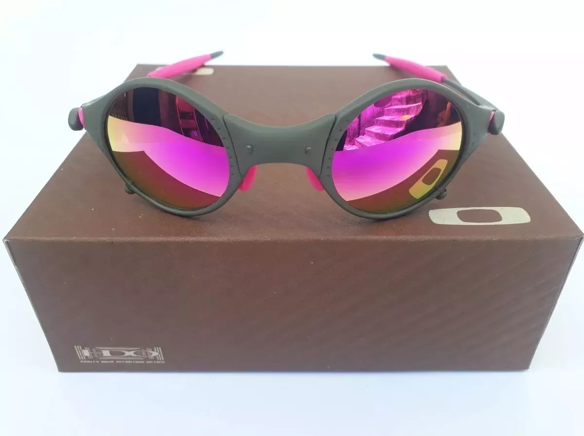 7647bc8784020 óculos 24k mars medusa rosa + certificado + teste lente. Carregando zoom.