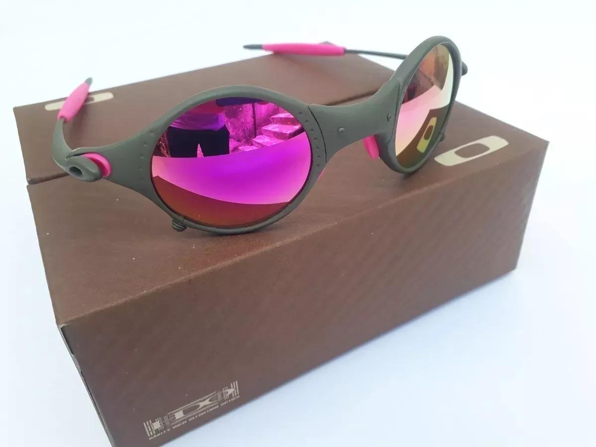 b30f391e1 Óculos 24k Mars Medusa Rosa + Certificado + Teste Lente - R$ 77,90 ...