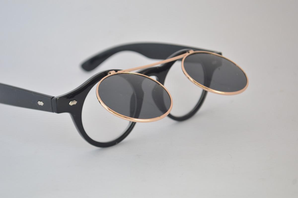 81c39997cb1e5 Óculos 2x1 Com 4 Lentes De Sol E Grau Versátil Estiloso B72 - R  49 ...