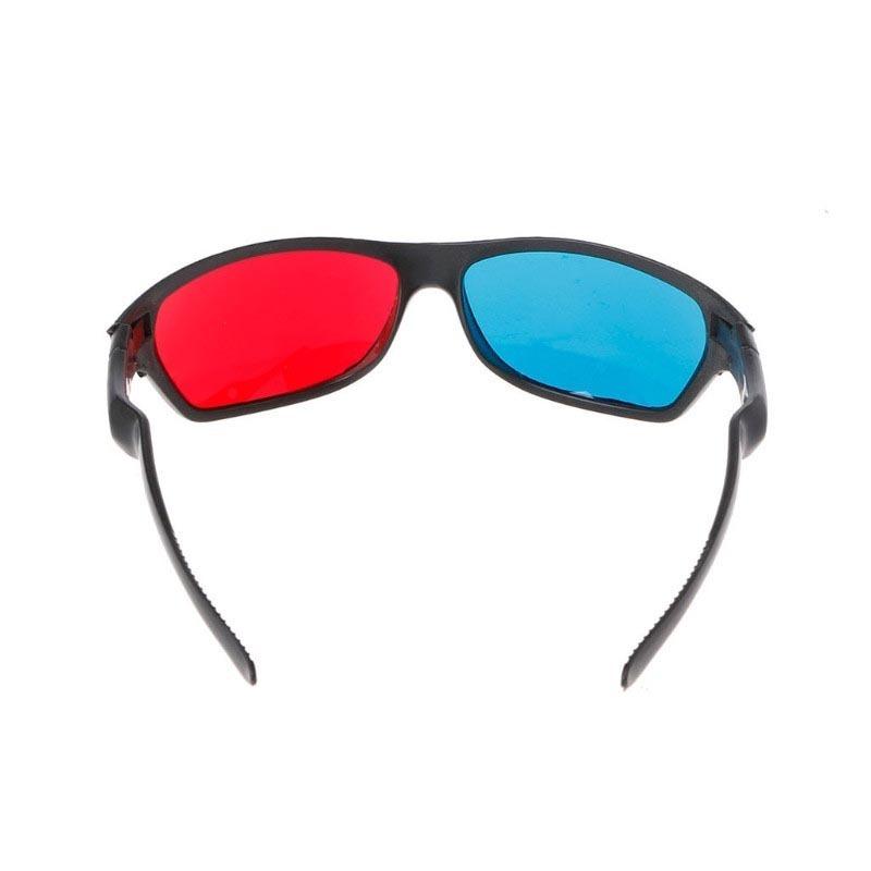 óculos 3d anáglifo, lente vermelha e azul, filmes. jogos, tv. Carregando  zoom. 3d7015ddf8
