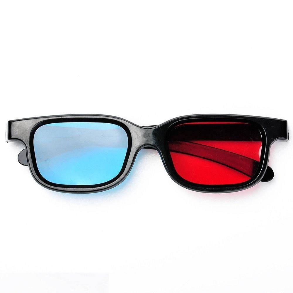 óculos 3d anáglifo padrão vermelho e azul, filmes, jogos, tv. Carregando  zoom. e995c19ab2
