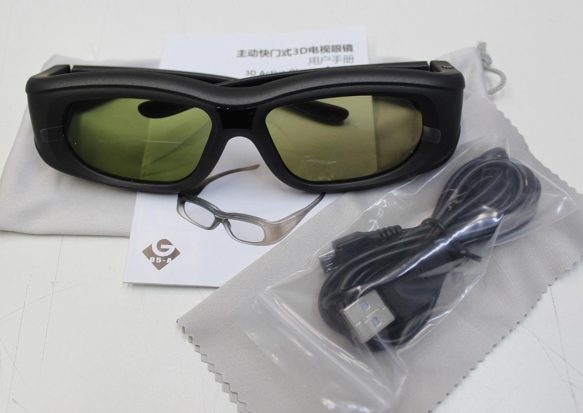 Óculos 3d Ativo Universal Dlp Para Projetores - R  219,00 em Mercado ... cc16fa3289