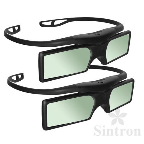 óculos 3d dlp ativos projetores optoma benq acer sintron