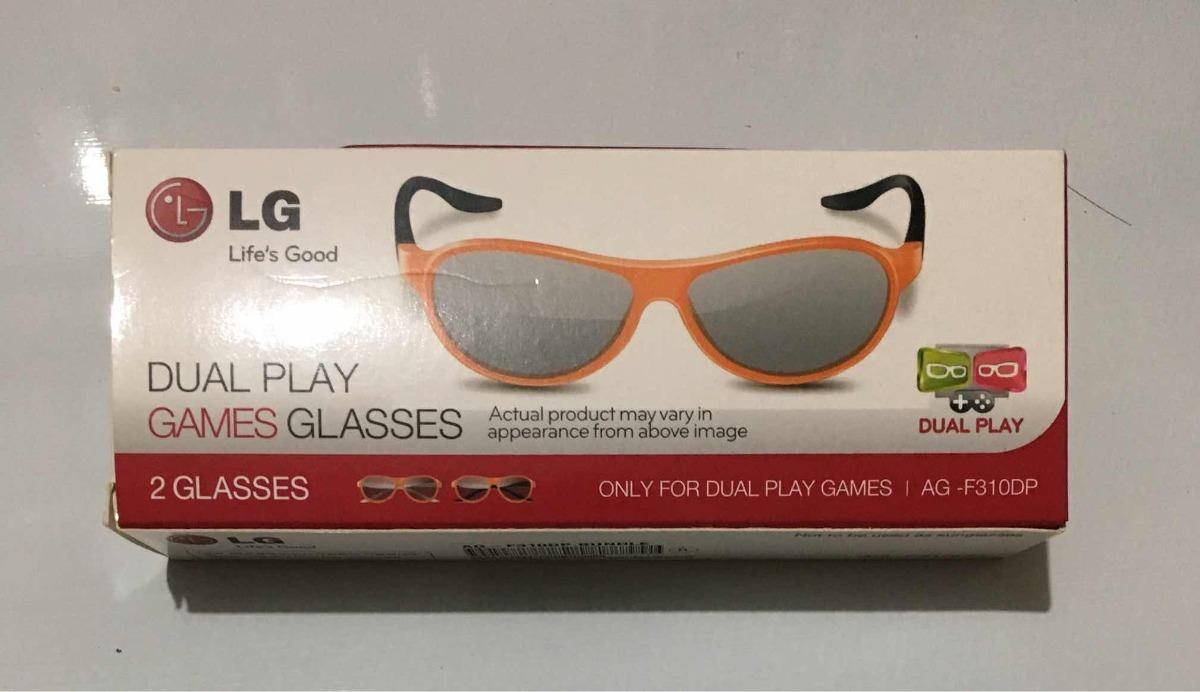 0dfef6c60 Óculos 3d Dual Play Ag-f310dp (par) Para Tv Lg - R$ 100,00 em ...