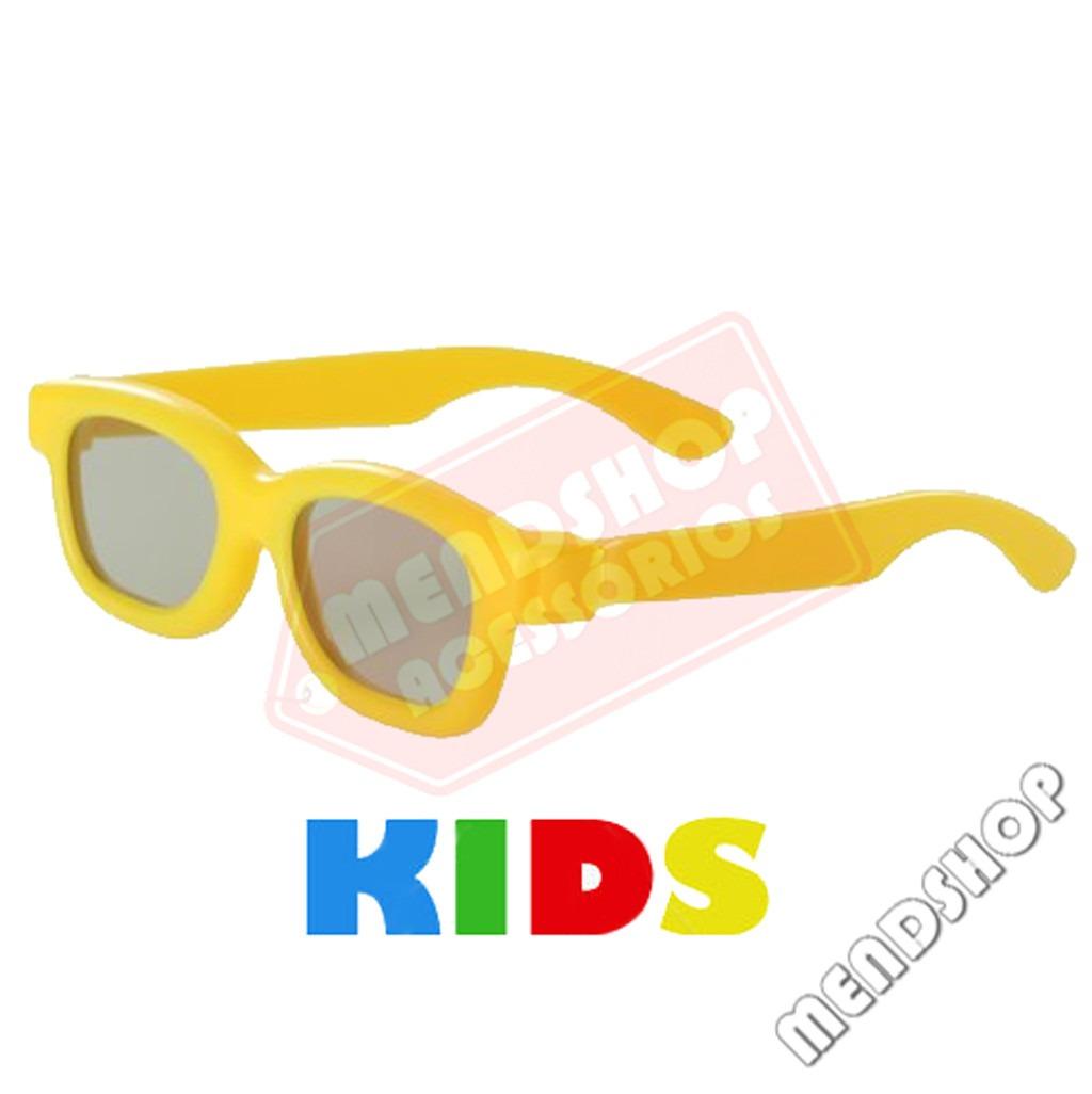 Óculos 3d Infantil Polarizado Passivo P  Tvs Lg Philips Sony - R  12,90 em  Mercado Livre 938d8f435e