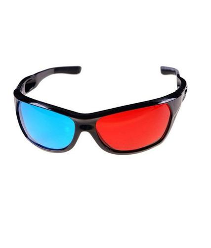 óculos 3d nvidia vision anaglífico azul e vermelho discover