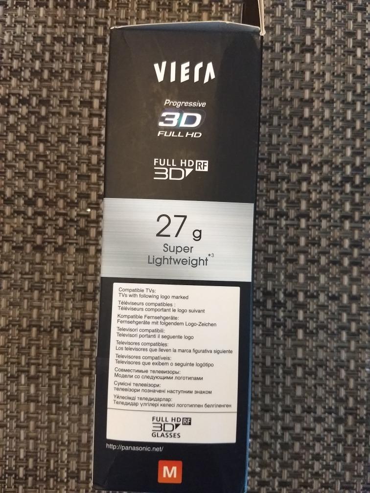 óculos 3d original tv panasonic viera ty-er3d4ma (raríssimo). Carregando  zoom. 80a6083351