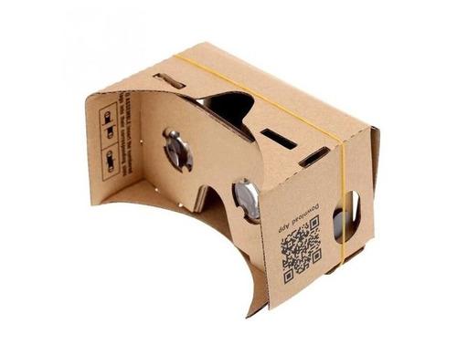 óculos 3d papelão google cardboard realidade virtual