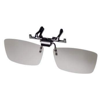Óculos 3d Passivo Clip Polarizado Tvs Philips Lg Cinema Grau - R  19 ... 6fa1744141