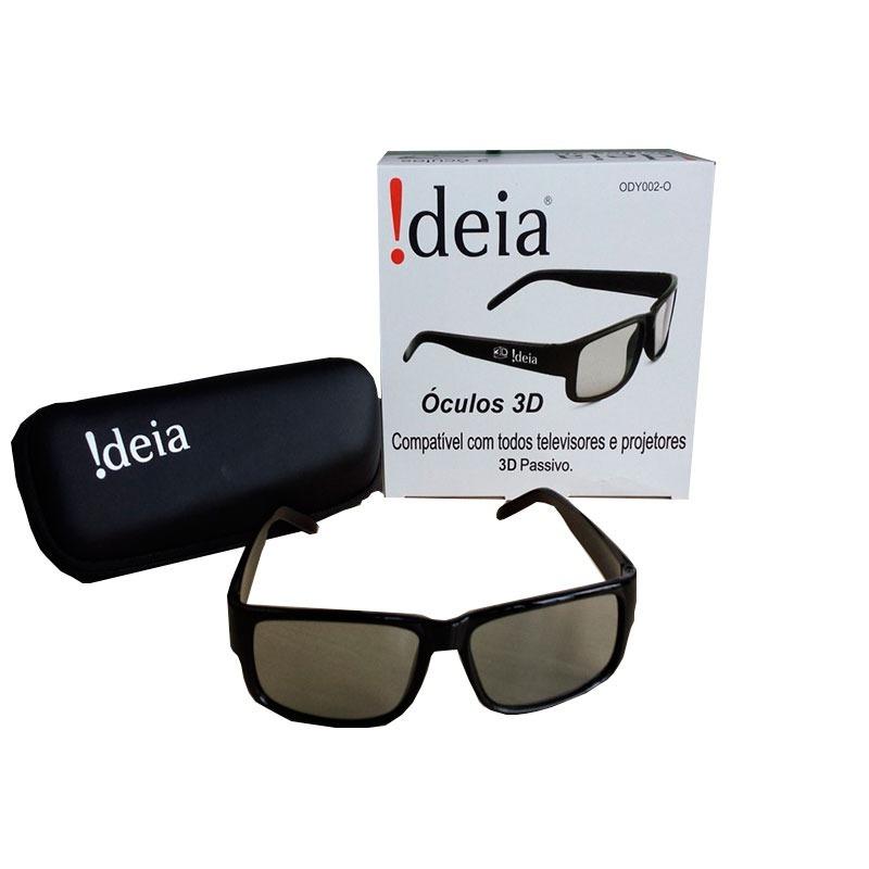 Oculos 3d Passivo Polarizado Ideia C  2und - R  55,00 em Mercado Livre 7f054da214