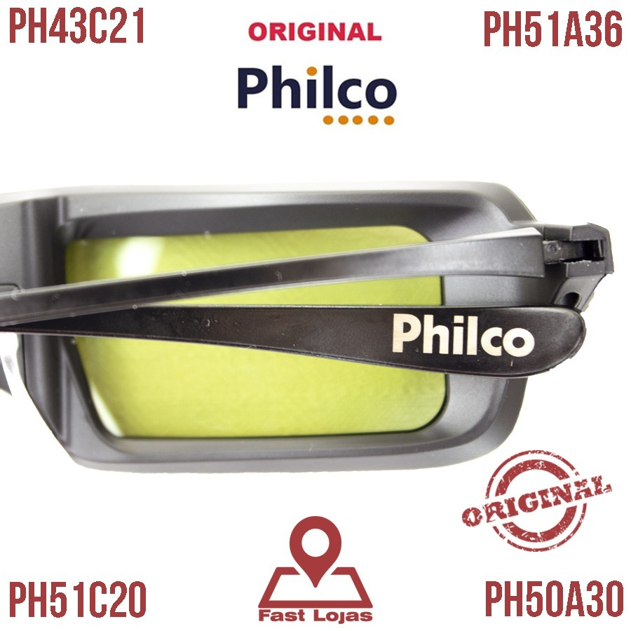 c13519a120579 óculos 3d ph43c21 ph51a36 ph50a30 ph51c20 original philco. Carregando zoom.