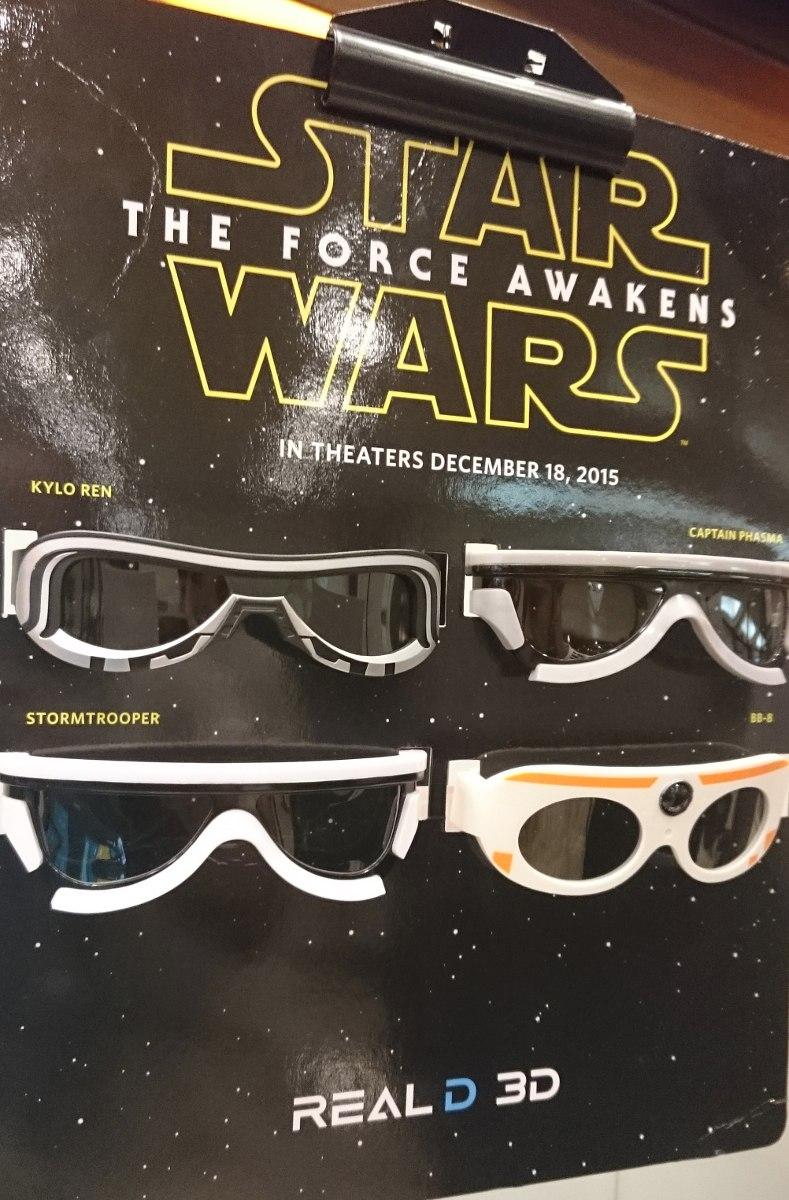 3822aeed4 óculos 3d polarizado cinema star wars clone trooper sony. Carregando zoom.