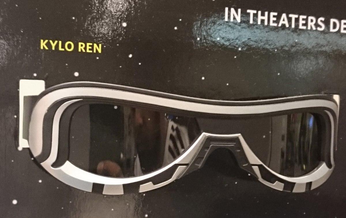 4436c94e2 Óculos 3d Polarizado Cinema Star Wars Kylo Ren Sony - R$ 119,99 em ...