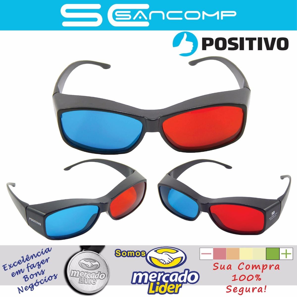 Óculos 3d - Positivo Òtima Qualidade 100% Original !!! - R  17,90 em ... 10c1aaa6c7