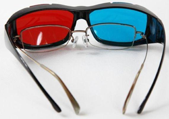 0e3f75310ec3c Óculos 3d Ultra Resistente Ótima Qualidade Red Cyan - R  17