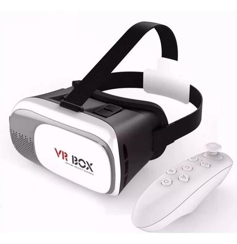 óculos 3d vr virtual box 3.0 celular smartphone + controle