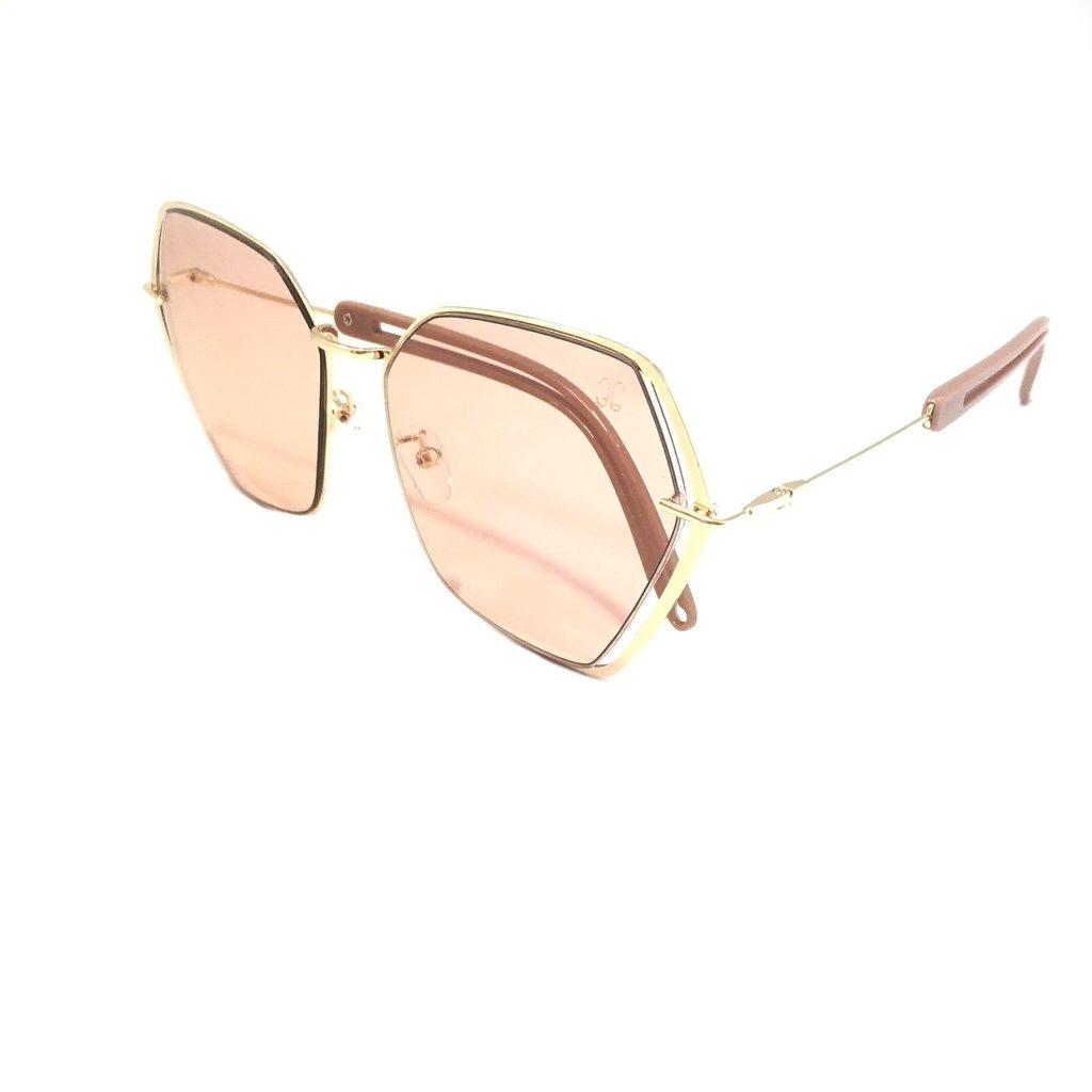 Óculos 3s Solar Feminino Hs-01 Blogueira Proteção Uv 400 - R  77,99 ... be4433f947