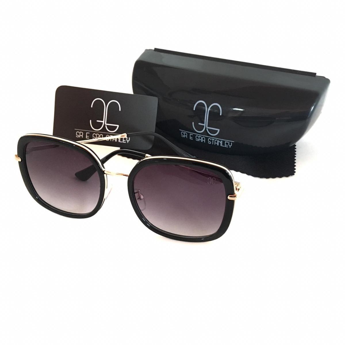 Óculos 3s Solar Feminino L-02 Blogueira Proteção Uv 400 - R  77,99 ... cad4a5595a