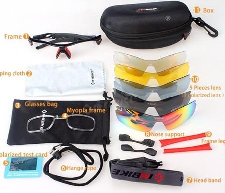 19b4af9496f4c Óculos (5 Lentes) Com Adaptador Para Grau Black Friday - R  189,00 ...