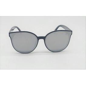 ebd9adfad10e2 Óculos De Sol Vezatto Preto Espelhado Prata Flat Yd1732 C2